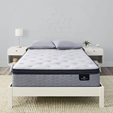 King Serta Perfect Sleeper Hybrid Standale II Plush Pillow Top Mattress