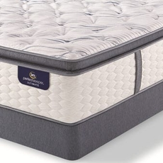 Full Serta Perfect Sleeper Ultimate Leshone Super Pillow Top Firm Mattress