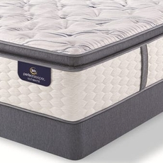 Queen Serta Perfect Sleeper Ultimate Leshone Super Pillow Top Plush Mattress