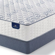 King Serta Perfect Sleeper Select Belltower II Firm Mattress with Motion Custom II Adjustable Base