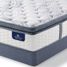 Serta Perfect Sleeper Elite Trelleburg Super Pillow Top Plush King Mattress Only SDMB081914 - Scratch and Dent Model ''As-Is''