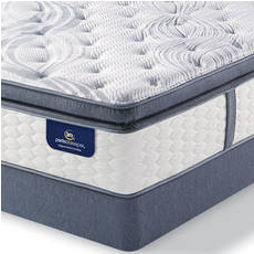Queen Serta Perfect Sleeper Elite Mendelson II Super Pillow Top Plush Mattress