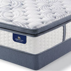 "Serta Perfect Sleeper Elite Mendelson II Super Pillow Top Plush Queen Mattress Only OVML011855 - Clearance Model ""As Is"""