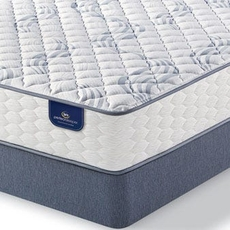 King Serta Perfect Sleeper Select Queensferry II Firm Mattress with Motion Perfect III Adjustable Base