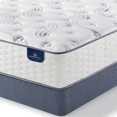 King Serta Perfect Sleeper Select Queensferry II Plush Mattress with Motion Essential III Adjustable Base