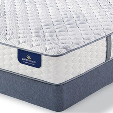 Queen Serta Perfect Sleeper Elite Rushcroft II Firm Mattress with Motion Perfect III Adjustable Base