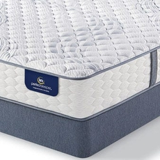 King Serta Perfect Sleeper Elite Rushcroft II Firm Mattress with Motion Essential III Adjustable Base