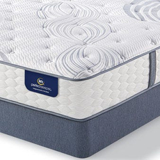 Queen Serta Perfect Sleeper Elite Rushcroft II Plush Mattress with Motion Essential III Adjustable Base
