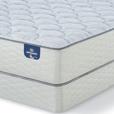 Full Serta Sertapedic Durrant II Plush Mattress