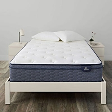 King Serta Sleep True Alverson II Firm Euro Top 13 Inch Mattress