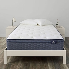 Twin Serta Sleep True Alverson II Plush Euro Top 13 Inch Mattress