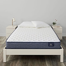 King Serta Sleep True Carrollton Firm 10 Inch Mattress