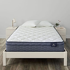 Cal King Serta Sleep True Malloy Plush Euro Top 12.5 Inch Mattress