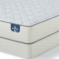 King Serta Sertapedic Durrant II Firm Mattress