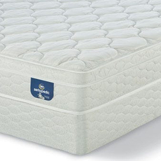 Queen Serta Sertapedic Glenlawn II Euro Top Mattress