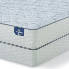 King Serta Sertapedic Hardwick II Firm Mattress with Motion Essential III Adjustable Base