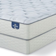 King Serta Sertapedic Hardwick II Plush Mattress with Motion Essential III Adjustable Base