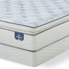 Queen Serta Sertapedic Hardwick II Super Pillow Top Plush Mattress