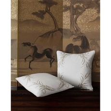 SFERRA Lonna Decorative Pillow in Snow