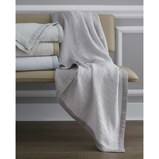 SFERRA Perlo Decorative Throw in Oatmeal