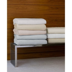 SFERRA St. Moritz Full/Queen Blanket in White