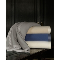 SFERRA Olindo Twin Blanket in Ivory