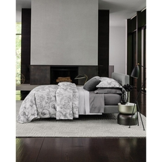 SFERRA Isella King Duvet Cover in Storm