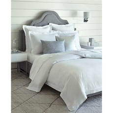 SFERRA Dianti King Duvet Cover in White