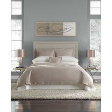 SFERRA Lucio King Duvet Cover in Cashew