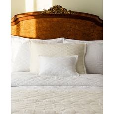 SFERRA Franca King Quilted Sham in White