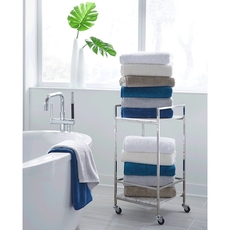 SFERRA Sarma Bath Sheet in Marine