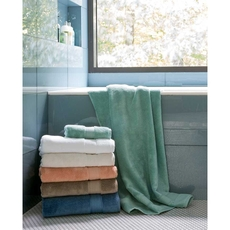 SFERRA Amira Bath Towel in Cadet