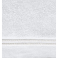 SFERRA Aura 60 Inch Bath Towel in White/White