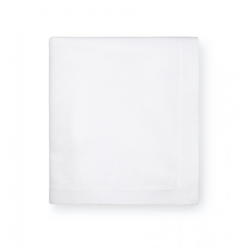 SFERRA Blaine 126 Inch Oblong Table Cloth in White