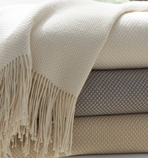 SFERRA Bristol Throw Blanket