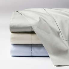 SFERRA Celeste Cal King Fitted Sheet