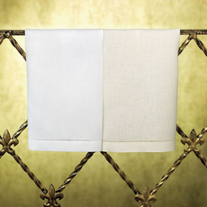 SFERRA Classico Set of 4 Guest Towels