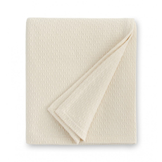 SFERRA Corino 100 Inch King Blanket in Ivory