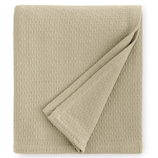 SFERRA Corino 100 Inch King Blanket in Oat
