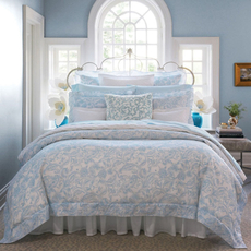 SFERRA Florissa Full Queen Duvet Cover