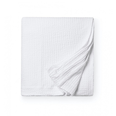 SFERRA Ginto 94 Inch King Blanket Cover in White
