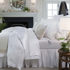 SFERRA Giza 45 Medallion Cal King Fitted Sheet
