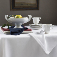 SFERRA Squire 70 Inch Square Tablecloth