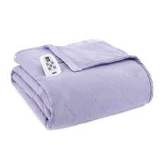 Shavel Micro Flannel® Amethyst Electric Heated Blanket