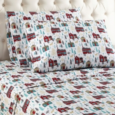Shavel Micro Flannel® Cabins Twin Sheet Set