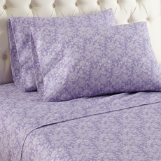Shavel Micro Flannel® Cal King Sheet Set - Enchantment Violet