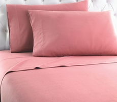 Shavel Micro Flannel® Frosted Rose Sheet Set