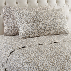 Shavel Micro Flannel® Leopard Sheet Set