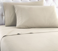 Shavel Micro Flannel® Taupe Sheet Set