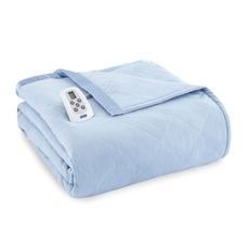 Shavel Micro Flannel® Wedgwood Electric Heated Blanket